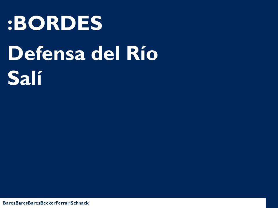 BaresBaresBaresBeckerFerrariSchnack :BORDES Defensa del Río Salí