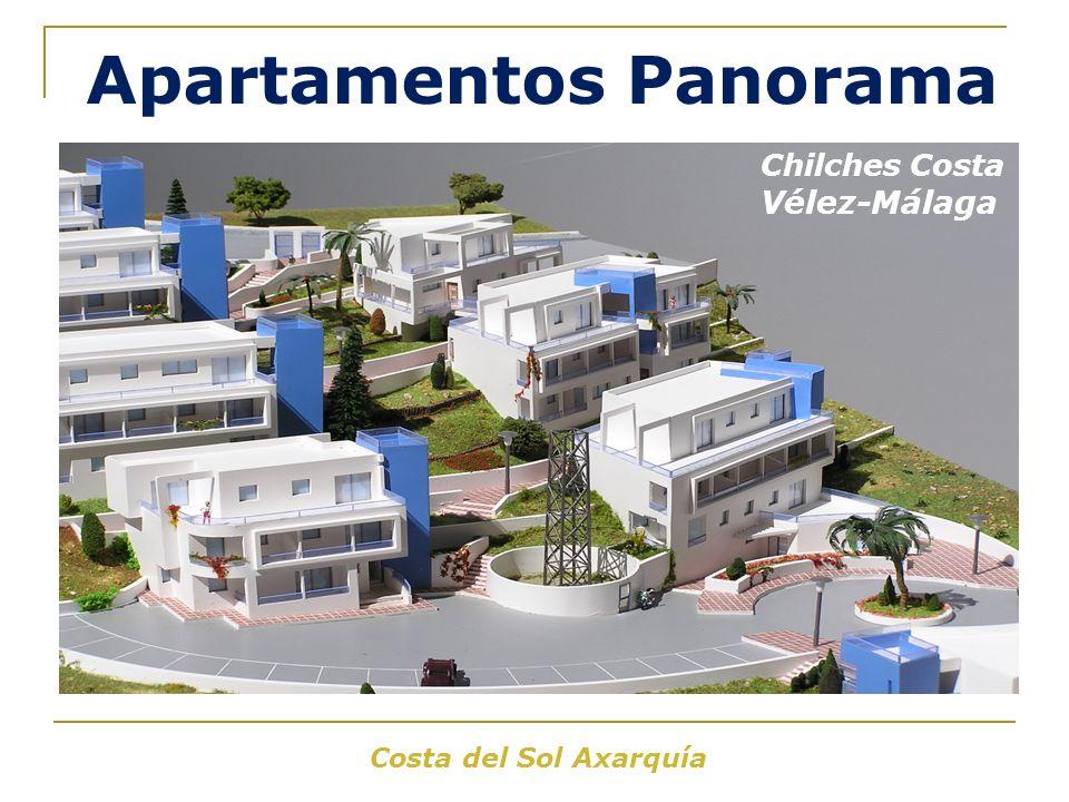 Costa del Sol Axarquía Apartamentos Panorama Chilches Costa Vélez-Málaga
