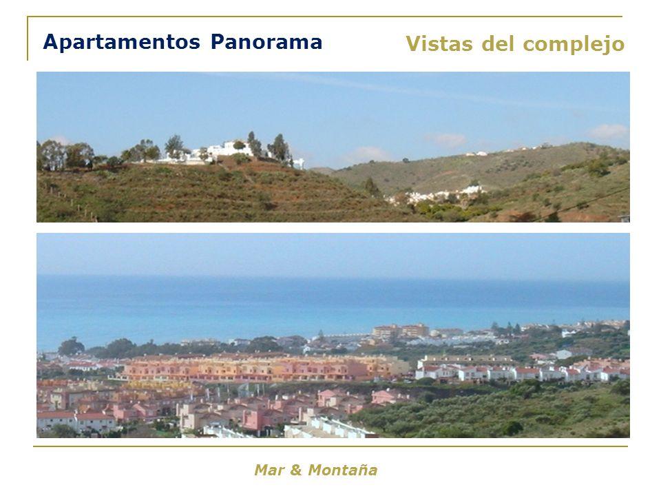 Mar & Montaña Vistas del complejo Apartamentos Panorama