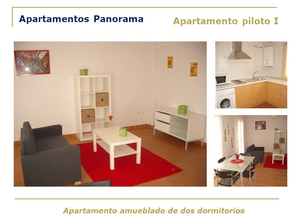 Apartamento amueblado de dos dormitorios Apartamento piloto I Apartamentos Panorama