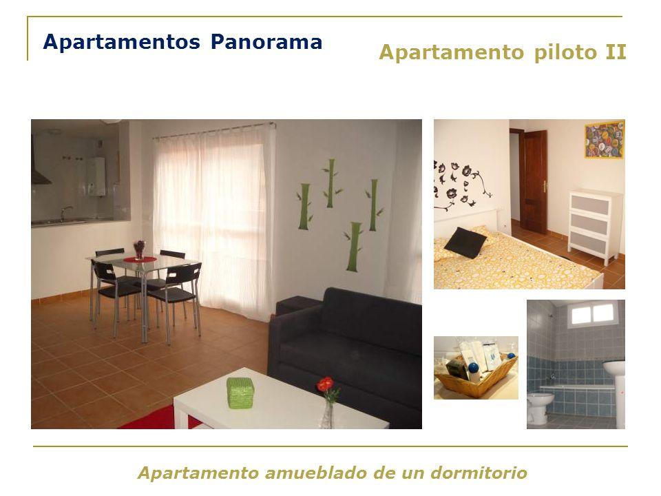 Apartamento piloto II Apartamento amueblado de un dormitorio Apartamentos Panorama