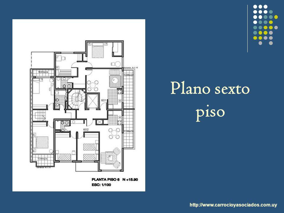 http://www.carrocioyasociados.com.uy Plano sexto piso