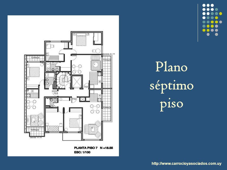 http://www.carrocioyasociados.com.uy Plano séptimo piso