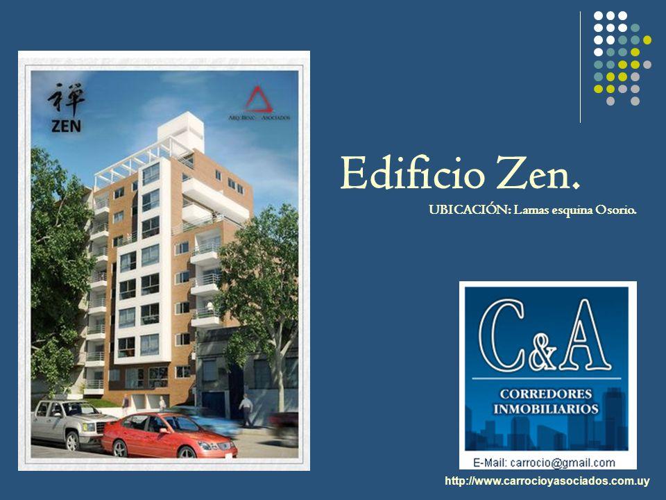 http://www.carrocioyasociados.com.uy Edificio Zen. UBICACIÓN: Lamas esquina Osorio.