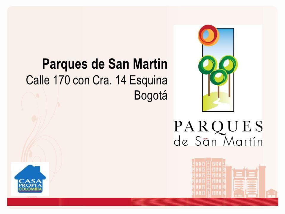 Parques de San Martin Calle 170 con Cra. 14 Esquina Bogotá