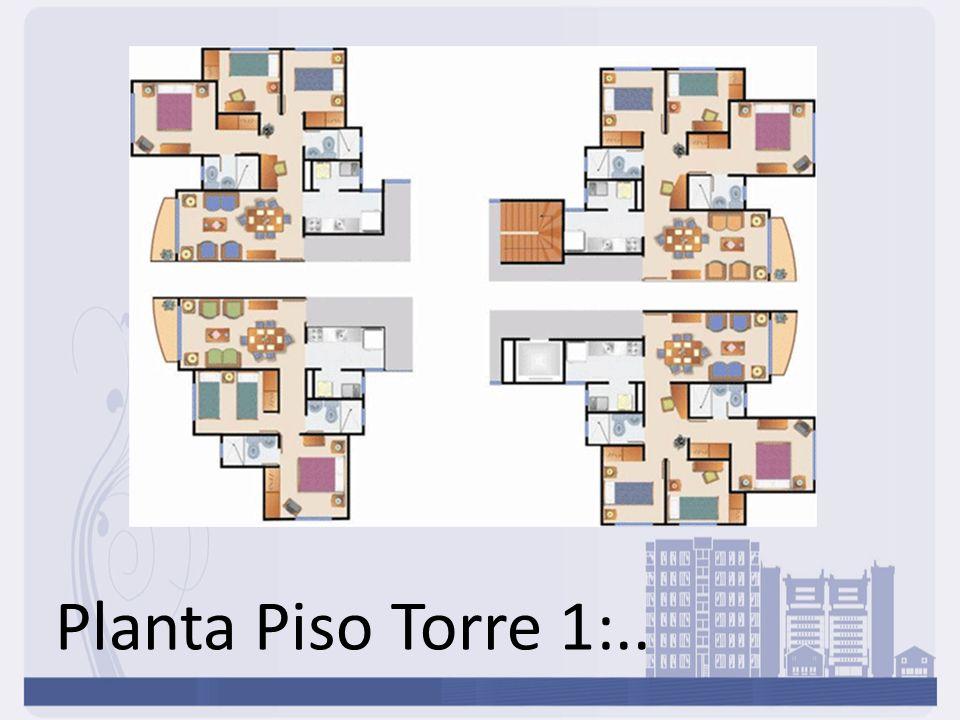 Planta Piso Torre 1:..