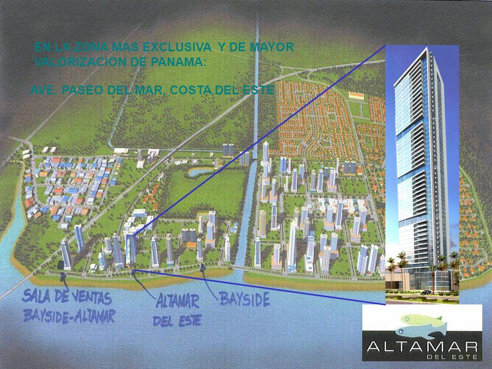 EN LA ZONA MAS EXCLUSIVA Y DE MAYOR VALORIZACION DE PANAMA: AVE. PASEO DEL MAR, COSTA DEL ESTE