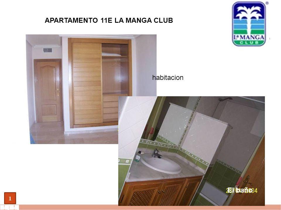 EVALUE finanzas corporativas 1 APARTAMENTO 11E LA MANGA CLUB habitacion El baño