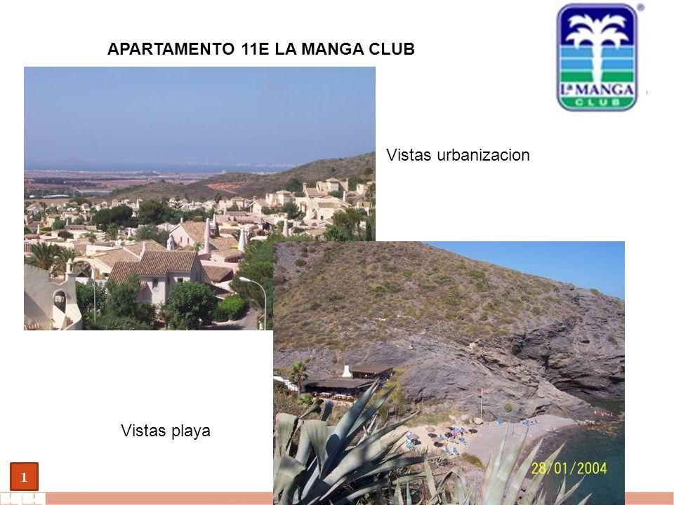 EVALUE finanzas corporativas 1 APARTAMENTO 11E LA MANGA CLUB Vistas urbanizacion Vistas playa