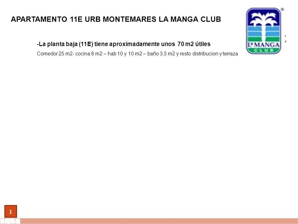 EVALUE finanzas corporativas 1 APARTAMENTO 11A URB MONTEMARES LA MANGA CLUB Referencia catastrales: