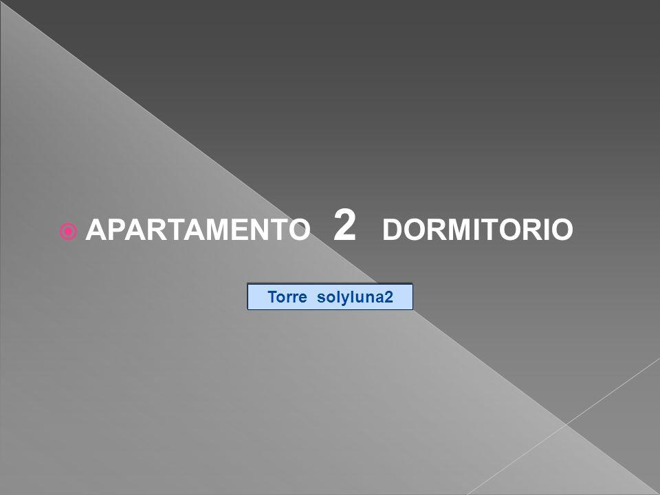 APARTAMENTO 2 DORMITORIO Torre solyluna2 Torre solyluna2