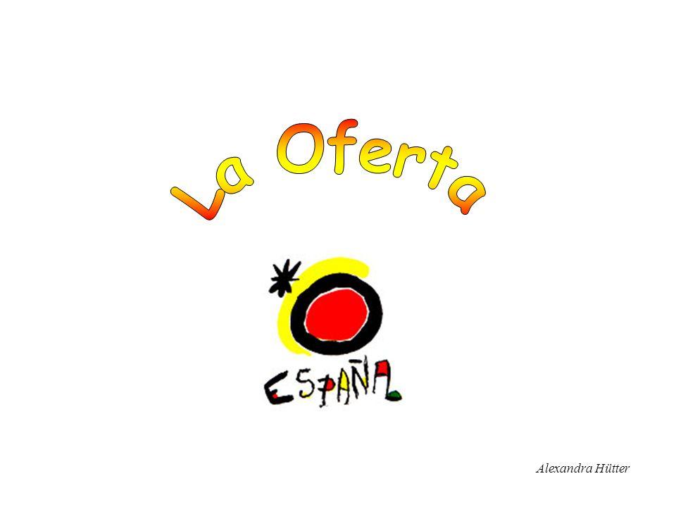2 La Oferta Turismo en España Infraestructura turística –Alojamiento –Transporte –Agencias de viajes –Gastronomía