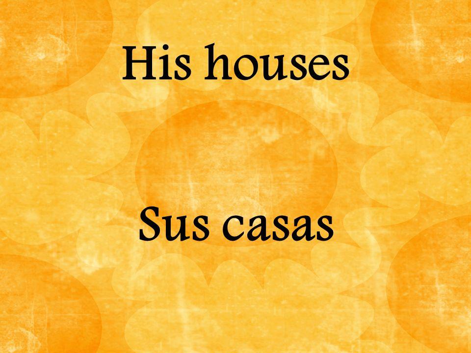 La casa ________ siete cuartos. tiene