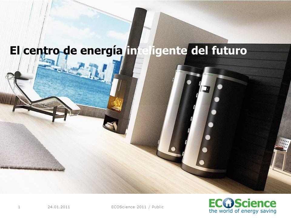 24.01.2011ECOScience 2011 / Public1 El centro de energía inteligente del futuro