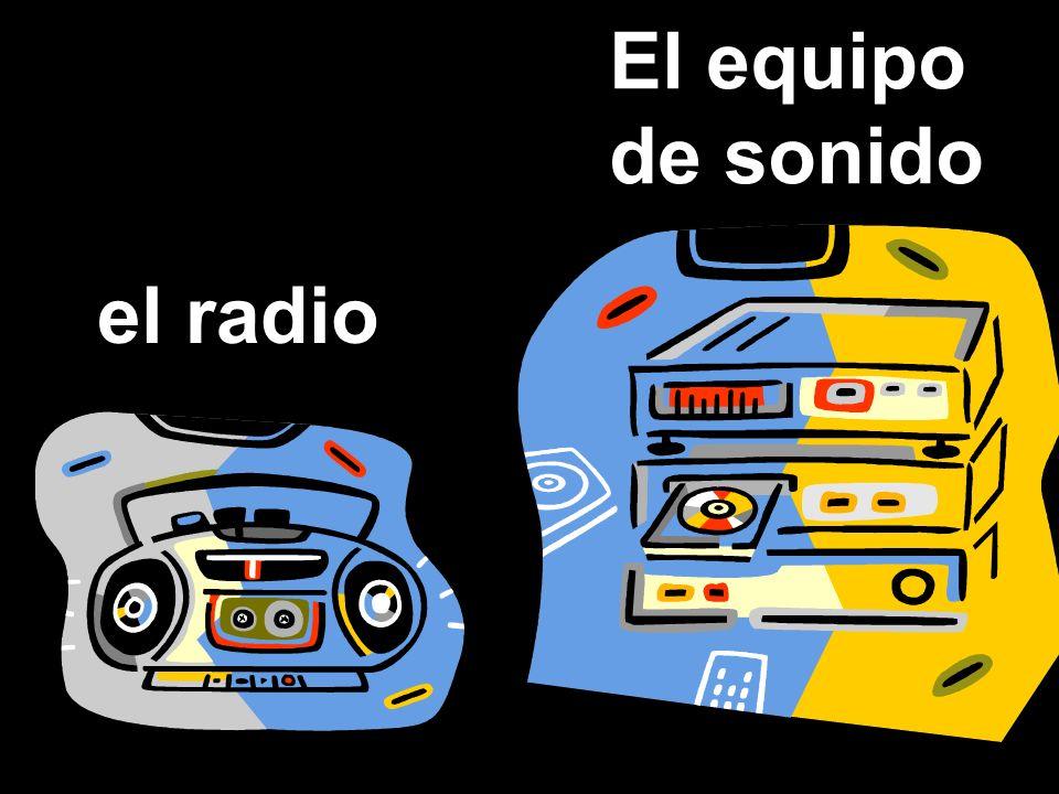 el radio El equipo de sonido