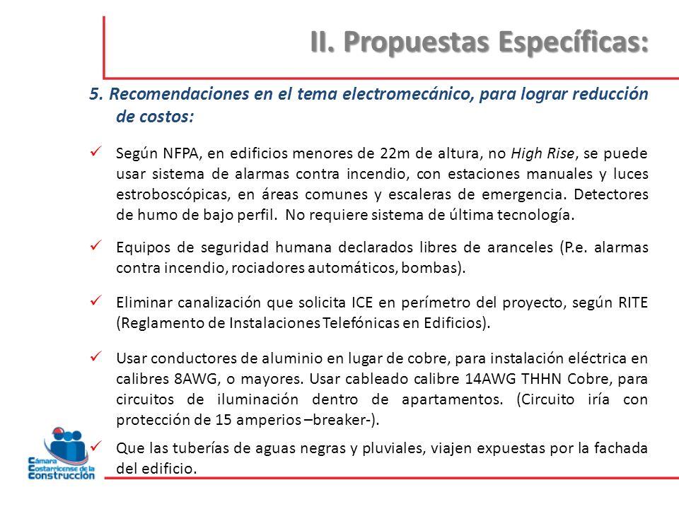 III.Temas para definir propuestas: 1.