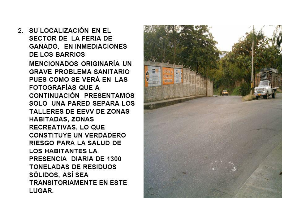 VECINDAD DE LOS TALLERES DE EEVV, CON PROYECTOS EDUCATIVOS.