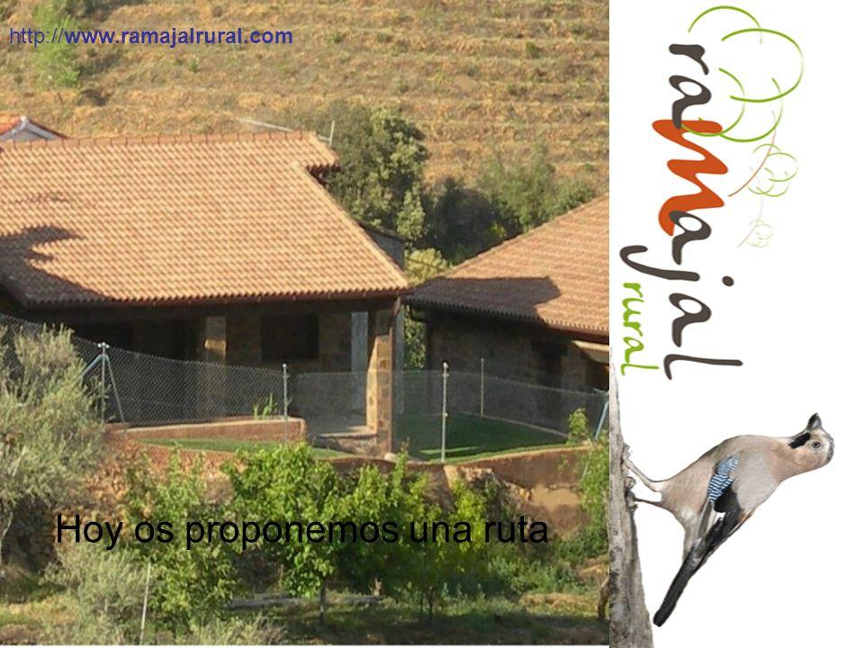 Hoy os proponemos una ruta http://www.ramajalrural.com