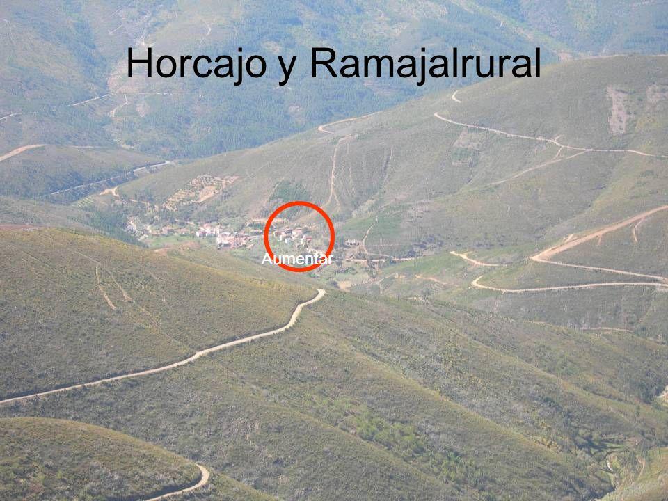 Horcajo y Ramajalrural Aumentar