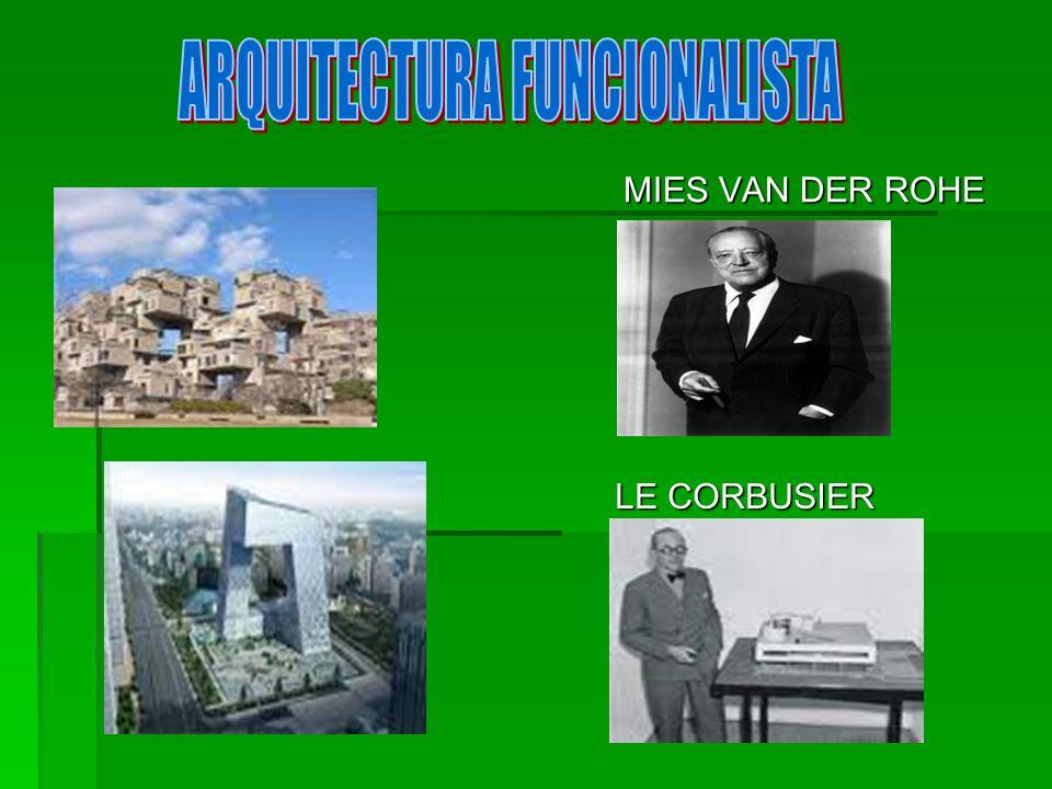INTRODUCCIÓN Funcionalismo, en arquitectura, es el principio por el cual el arquitecto que diseña un edificio debería hacerlo basado en el propósito que va a tener ese edificio.