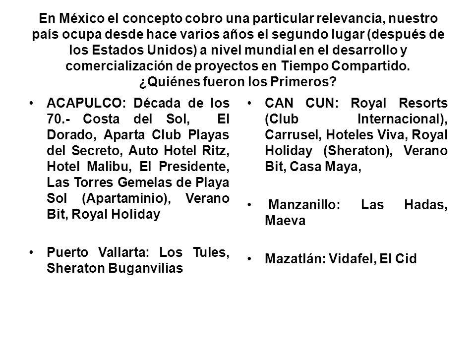 En México el concepto cobro una particular relevancia, nuestro país ocupa desde hace varios años el segundo lugar (después de los Estados Unidos) a ni