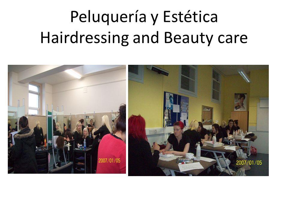 Peluquería y Estética Hairdressing and Beauty care