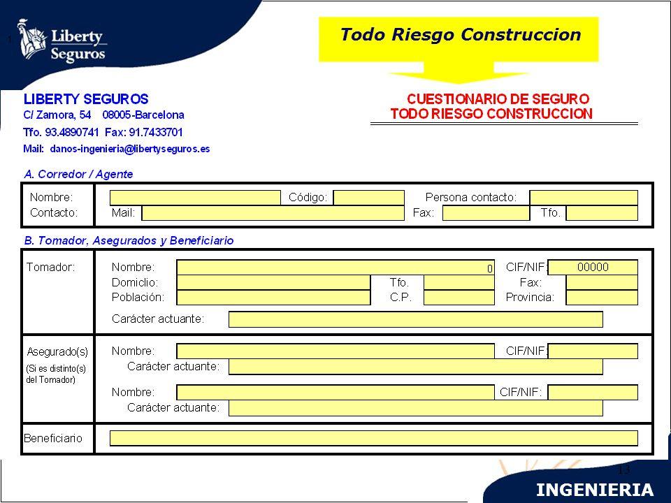 INGENIERIA 13 Todo Riesgo Construccion 1.