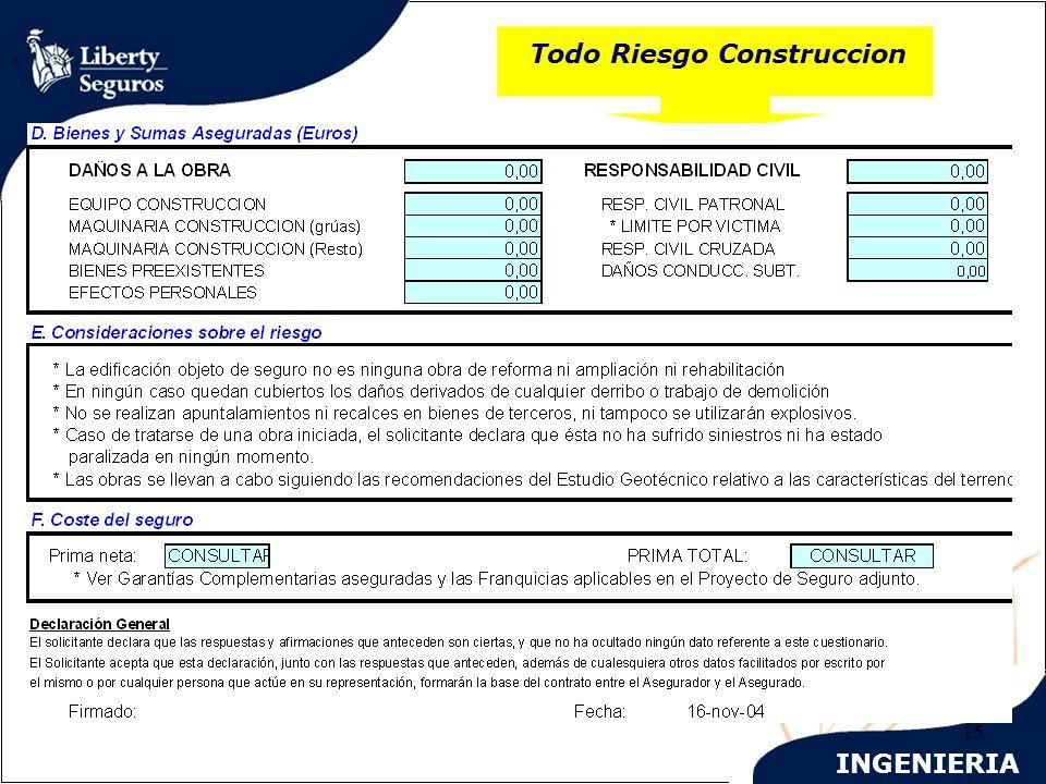 INGENIERIA 15 Todo Riesgo Construccion 1.