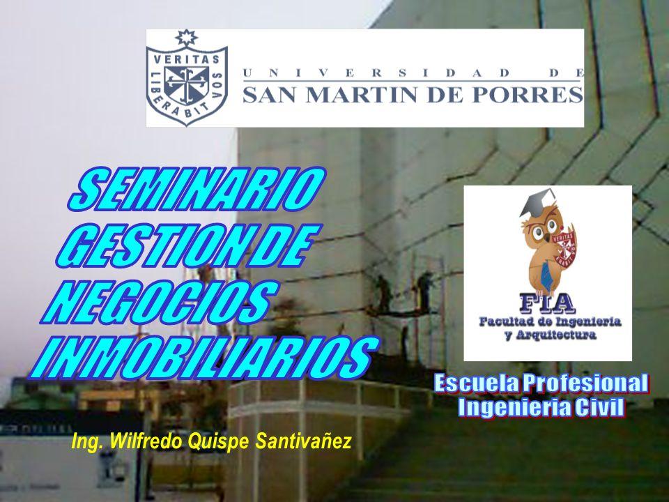 Ing. Wilfredo Quispe Santivañez