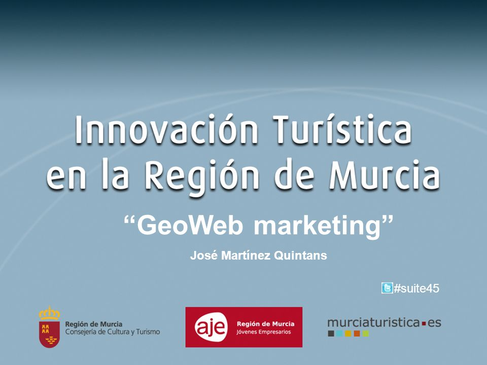 GeoWeb marketing José Martínez Quintans #suite45