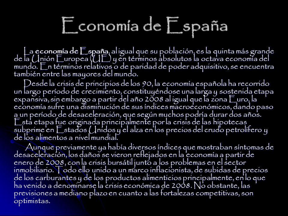La Economía en España El Banco de España asegura en su boletín del mes de septiembre que la actividad económica y el empleo continuaron debilitándose en el tercer trimestre del año, en un contexto de incertidumbre que se ha visto acrecentado en las últimas semanas por el agravamiento de las tensiones en los mercados financieros internacionales .