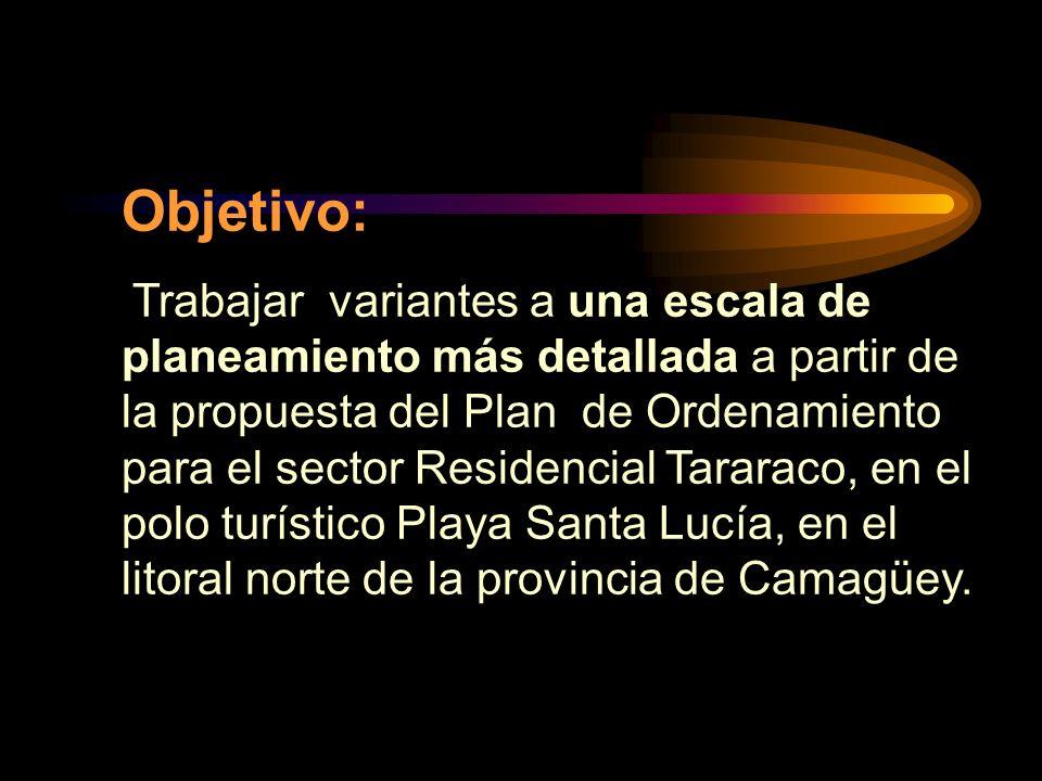 Objetivo: Trabajar variantes a una escala de planeamiento más detallada a partir de la propuesta del Plan de Ordenamiento para el sector Residencial T