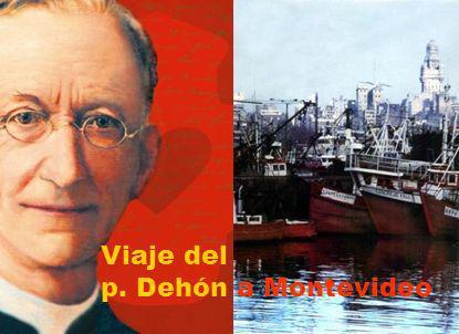 Viaje del p. Dehón a Montevideo