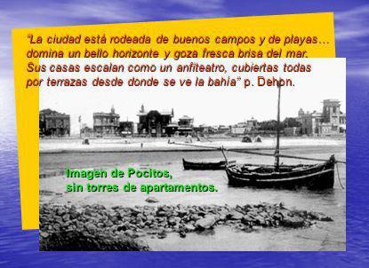 El p.Dehon visitó con el p. Gislain la linda playa para baños de mar de Pocitos.