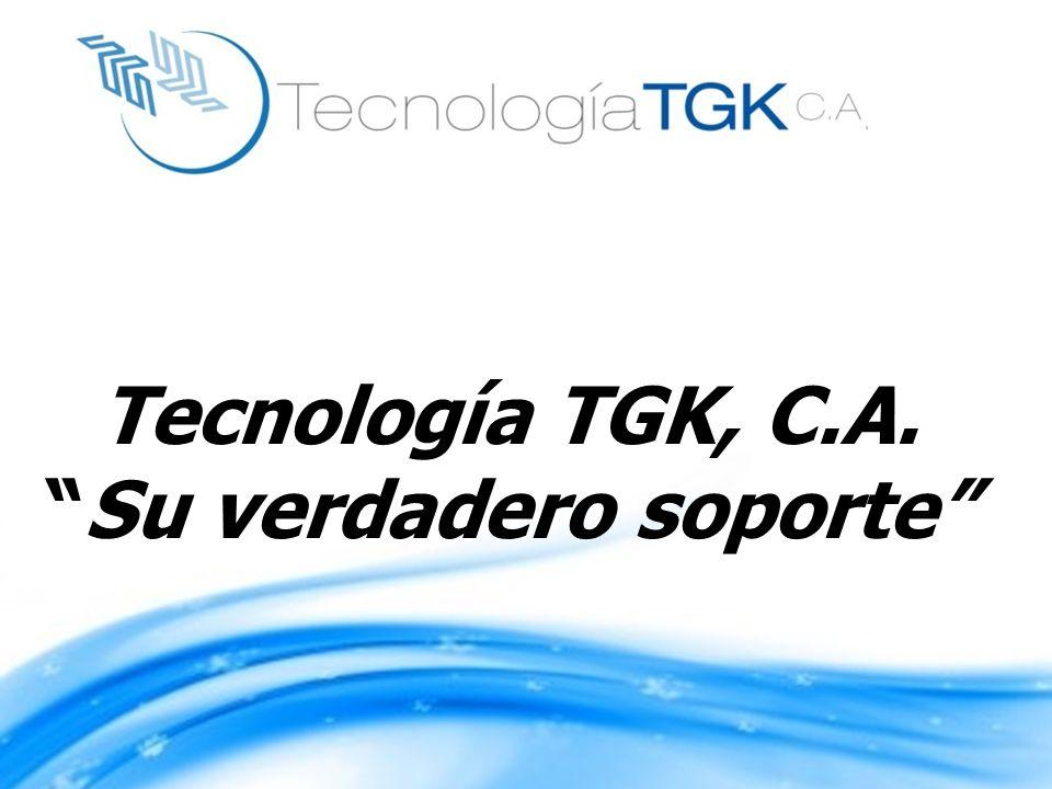 Tecnología TGK, C.A. Su verdadero soporte