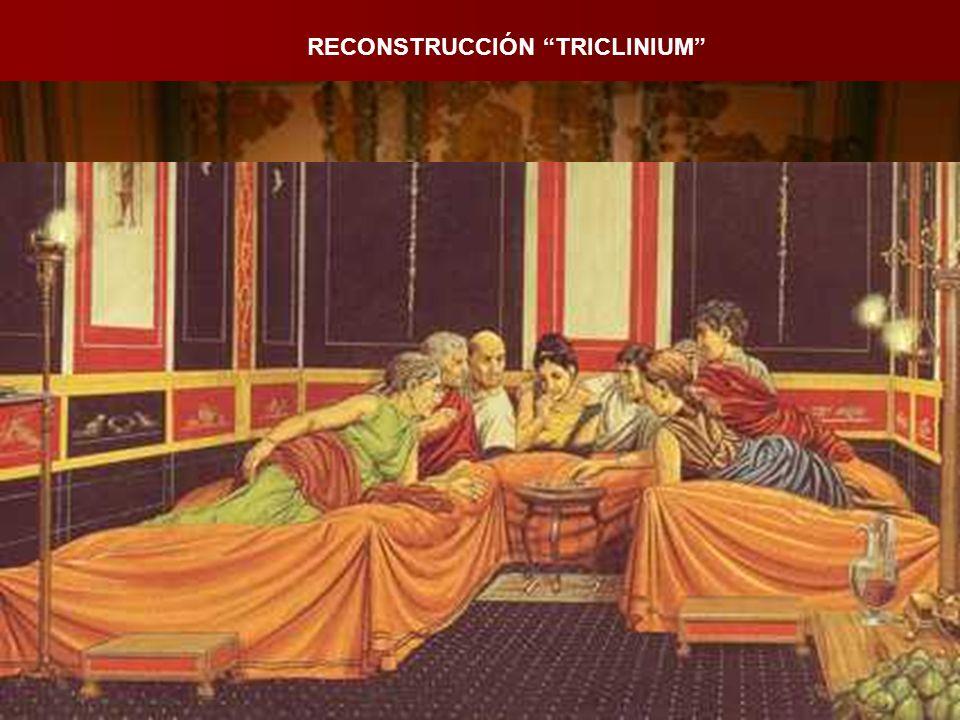 RECONSTRUCCIÓN TRICLINIUM