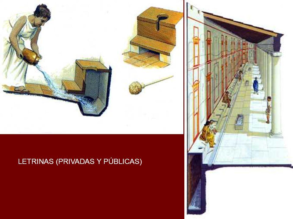LETRINAS (PRIVADAS Y PÚBLICAS)