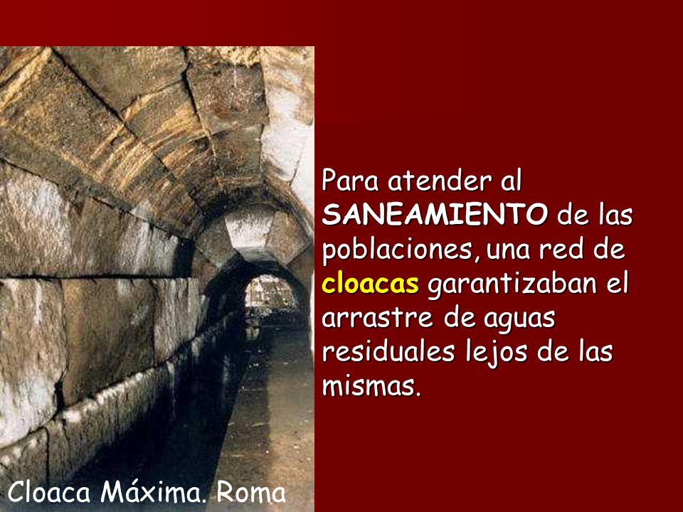 Cloaca Máxima.