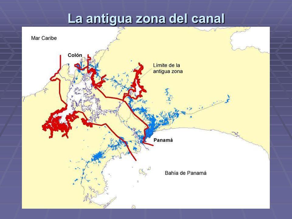 La antigua zona del canal
