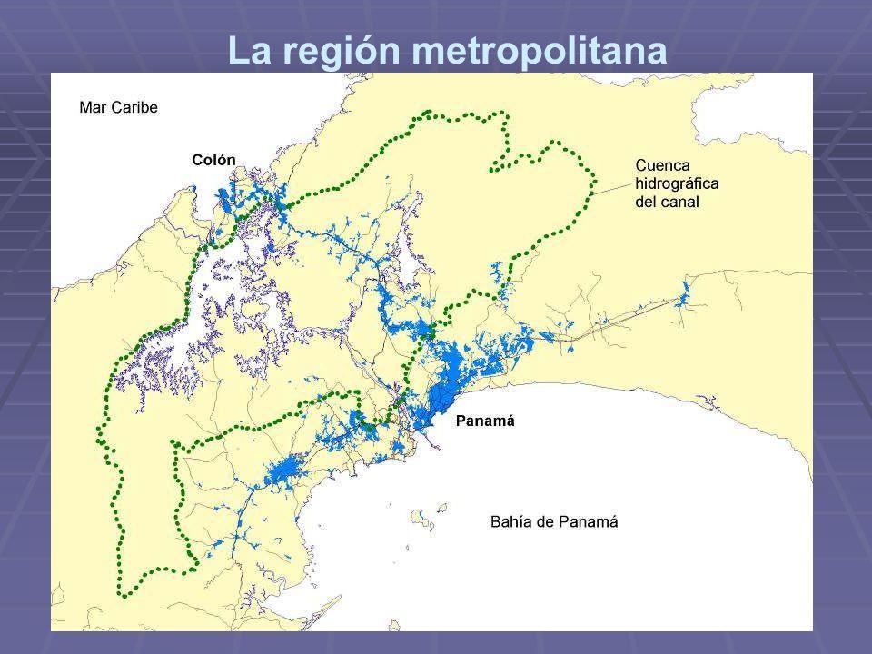 La región metropolitana