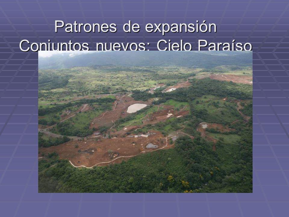 Patrones de expansión Conjuntos nuevos: Cielo Paraíso
