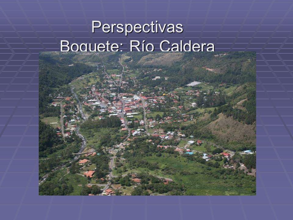 Perspectivas Boquete: Río Caldera