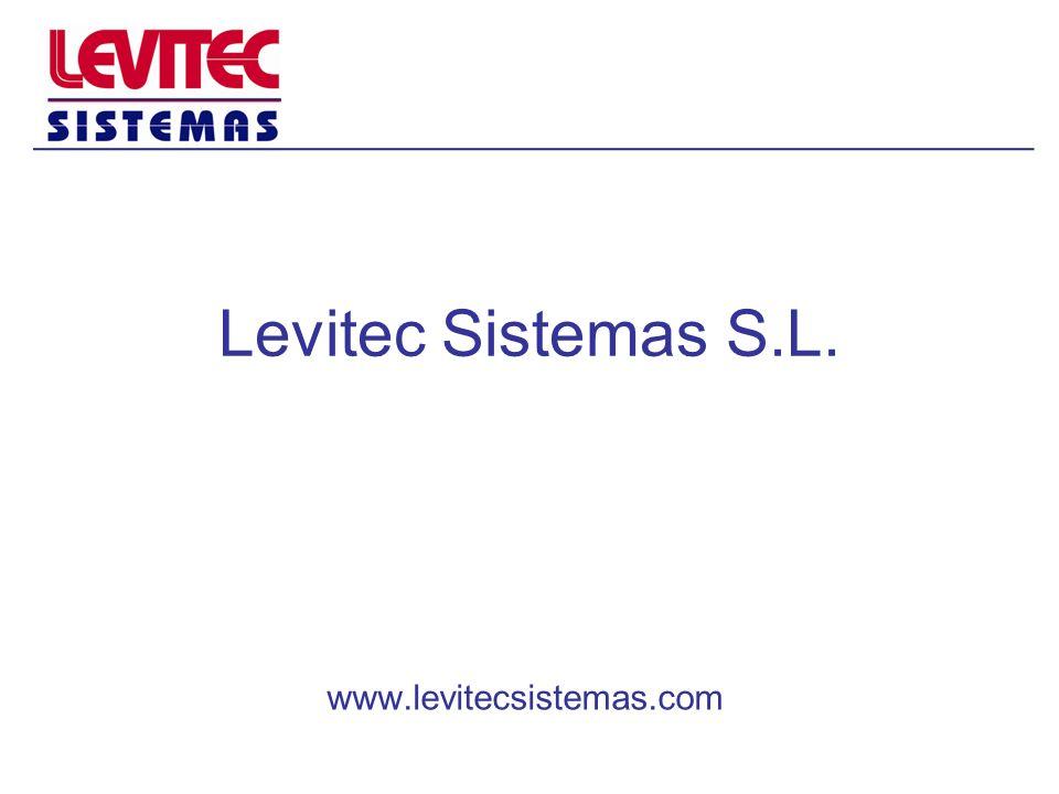 CONTRATOS DE MANTENIMIENTO Levitec Sistemas también ofrece un servicio de mantenimiento adaptado a las necesidades de cada cliente, desde mantenimientos preventivos con periodos determinados, hasta servicios 24h.