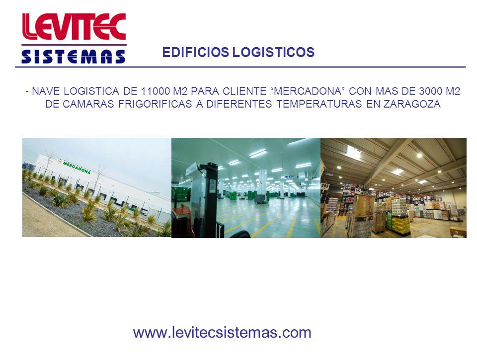 EDIFICIOS LOGISTICOS - NAVE LOGISTICA DE 11000 M2 PARA CLIENTE MERCADONA CON MAS DE 3000 M2 DE CAMARAS FRIGORIFICAS A DIFERENTES TEMPERATURAS EN ZARAG