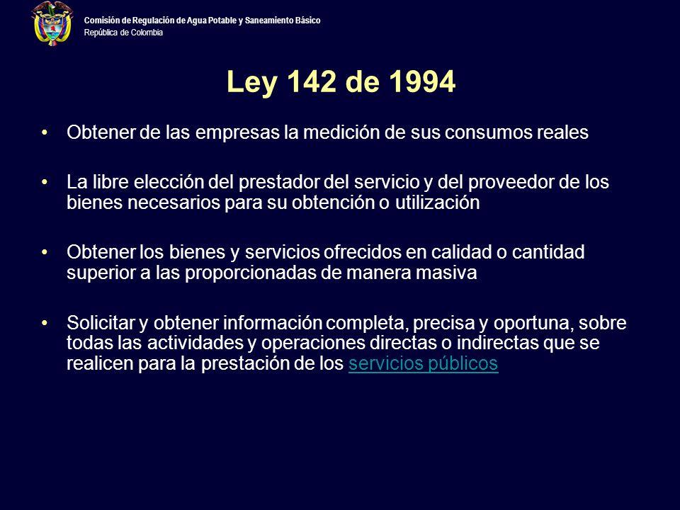 Comisión de Regulación de Agua Potable y Saneamiento Básico República de Colombia Para concluir…