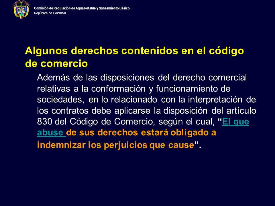 Comisión de Regulación de Agua Potable y Saneamiento Básico República de Colombia –Las cláusulas ambiguas serán interpretadas contra la parte que escribió el contrato (art.