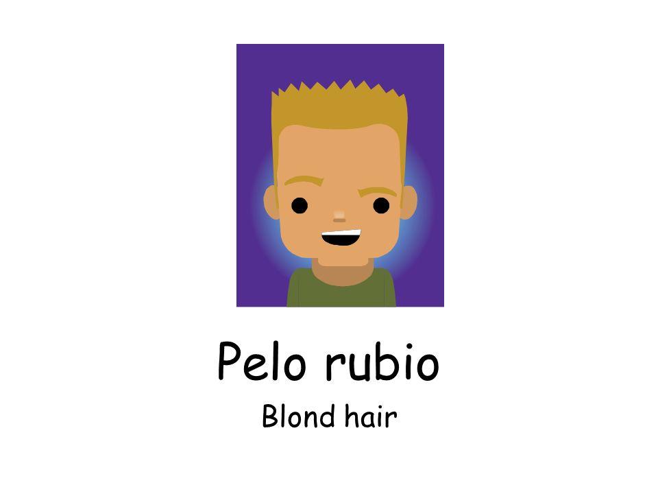 Pelo rubio Blond hair
