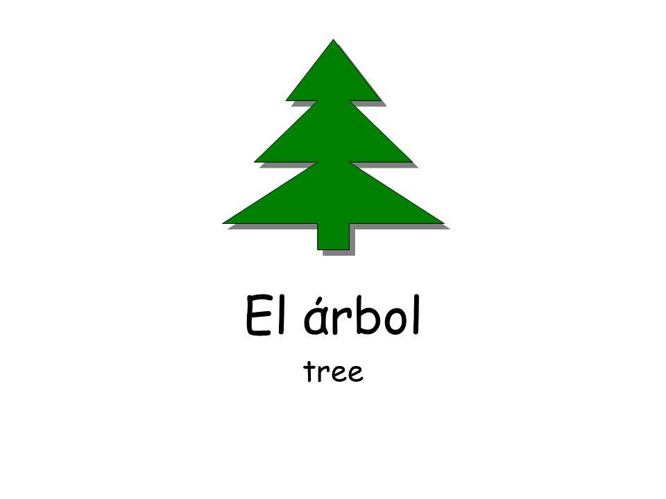 El άrbol tree
