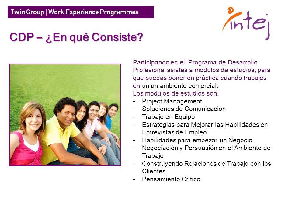 Participando en el Programa de Desarrollo Profesional asistes a módulos de estudios, para que puedas poner en práctica cuando trabajes en un un ambien