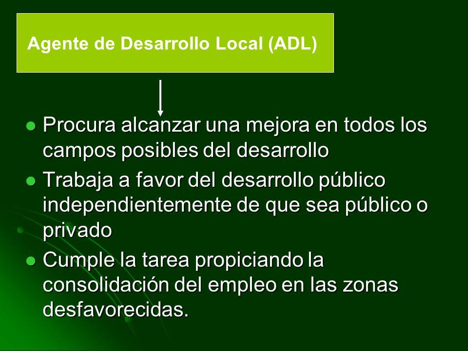 OBJETIVOS DE LA AGENCIA DE DESARROLLO LOCAL DE CANGAS DEL NARCEA Constituirse en punto de encuentro e intercambio de experiencias en el campo de Desarrollo Local.